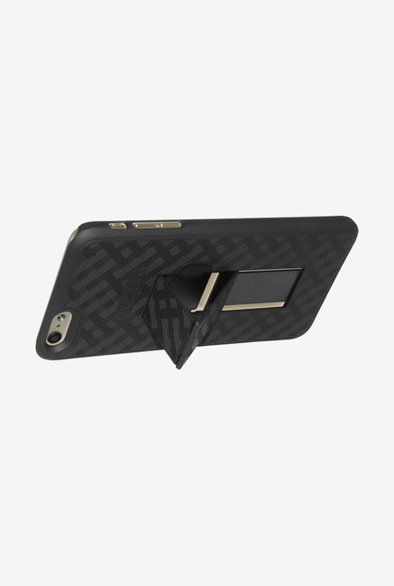 Amzer Snap On Case with Kickstand Black for iPhone 6+