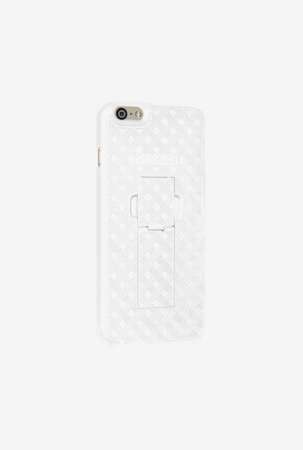 Amzer Snap On Case with Kickstand White for iPhone 6+