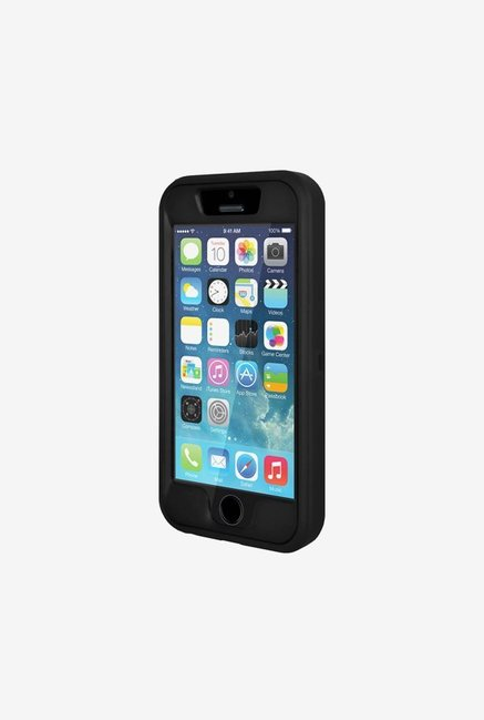 Amzer Full Body Hybrid Credit Card Case Black for iPhone 5