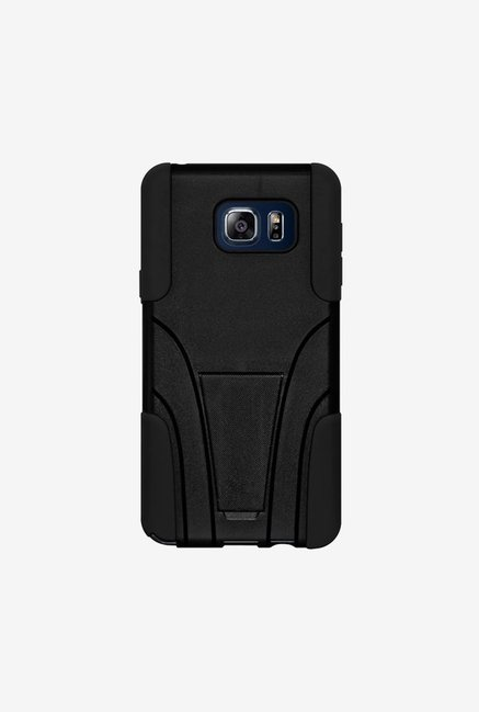 Amzer Dual Layer Hybrid Case Black for Samsung Note 5