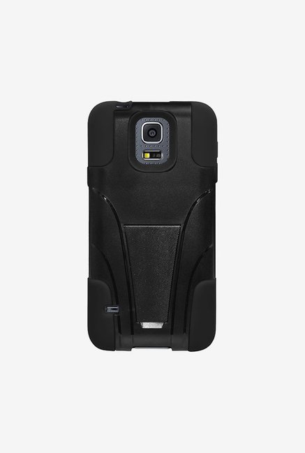 Amzer Dual Layer Hybrid Case Black for Samsung S5 mini