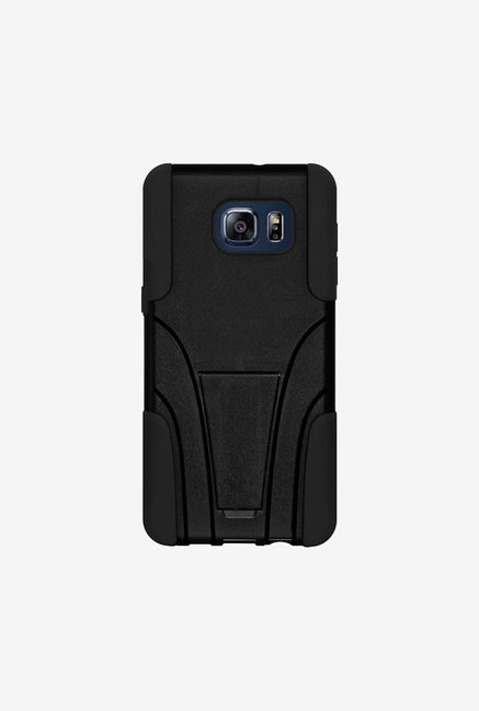 Amzer Dual Layer Hybrid Case Black for Samsung S6 edge+