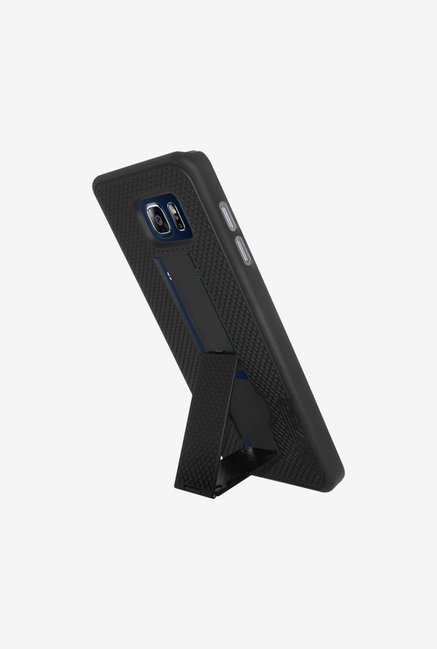 Amzer Snap On Case with Kickstand Black for Samsung Note 5