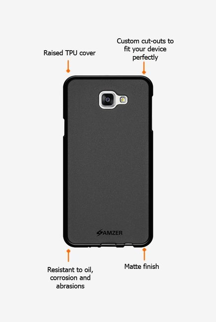 Amzer Pudding TPU Case Black for Samsung A9