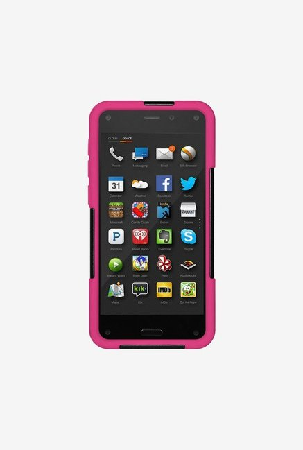 Amzer Dual Layer Case Black & Hot Pink for Amazon Fire Phone