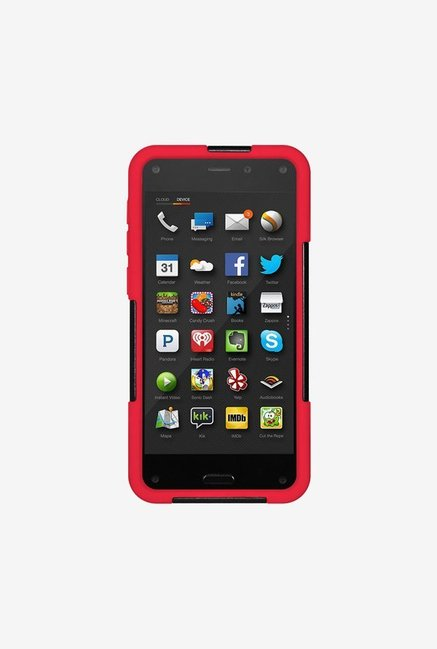 Amzer Dual Layer Case Black & Red for Amazon Fire Phone
