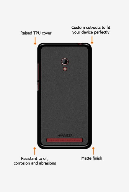 Amzer Pudding TPU Case Black for Zenfone 6