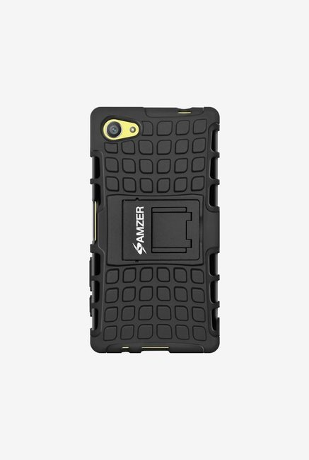 Amzer Hybrid Warrior Case Black for Xperia Z5 Compact