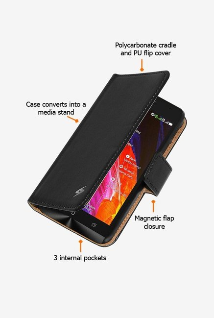 Amzer Flip Case Black for Zenfone 6