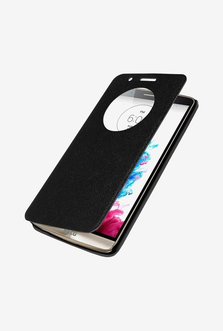 Amzer Flip Case with Quick View Black for LG G3