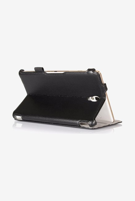 Amzer Shell Portfolio Case Black for Samsung Tab S