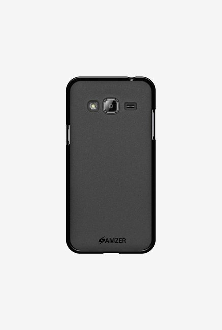 Amzer Pudding TPU Case Black for Samsung J3