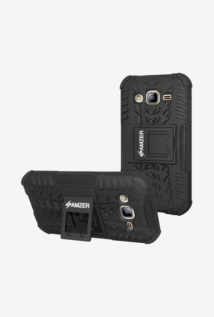 Amzer Hybrid Warrior Case Black for Samsung On7