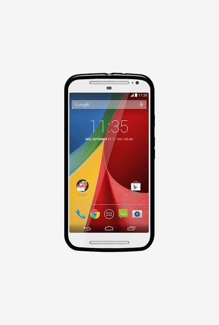 Amzer Pudding TPU Case Black for Moto G