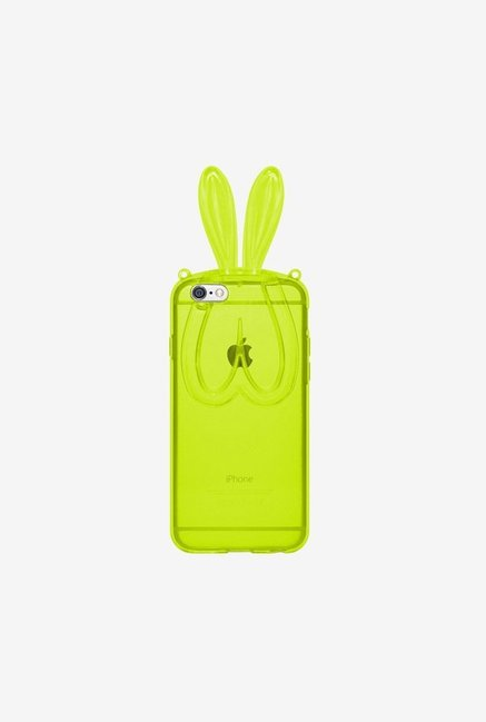 Amzer TPU Case With Rabbit Ears Green for iPhone 6+