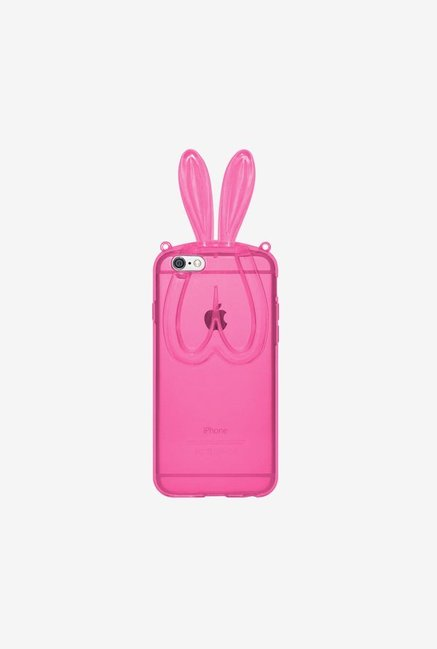 Amzer TPU Case With Rabbit Ears Pink for iPhone 6+