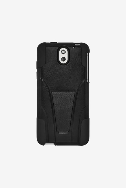 Amzer Dual Layer Hybrid Case Black for HTC Desire 610