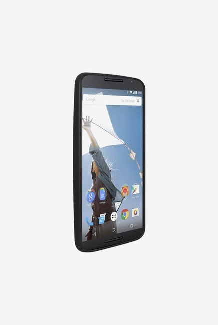 Amzer SlimGrip Hybrid Case Black for Nexus 6