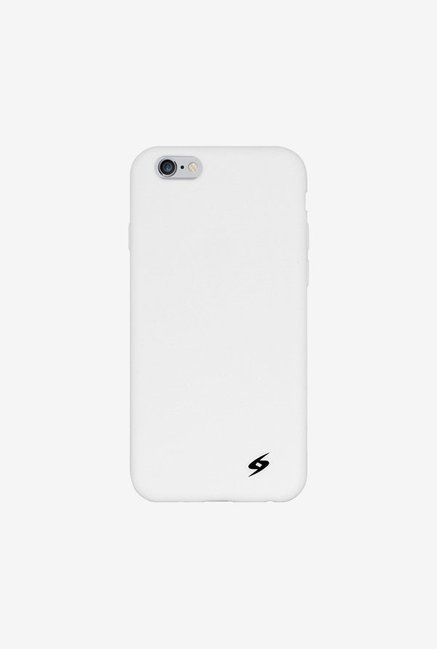 Amzer Silicone Skin Jelly Case Solid White for iPhone 6