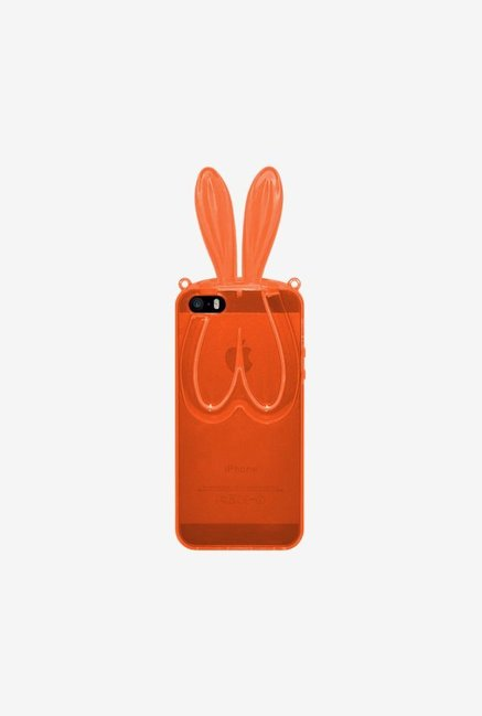 Amzer TPU Case With Rabbit Ears Orange for iPhone 5