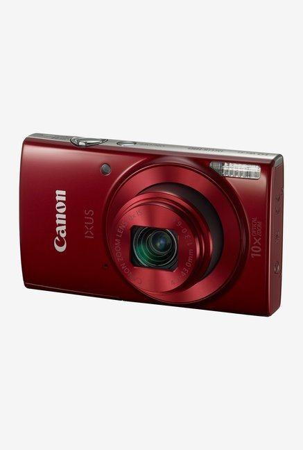 Canon IXUS 180 HS Point & Shoot Camera Red