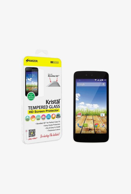 Amzer Kristal Tempered Glass for Micromax Canvas A1