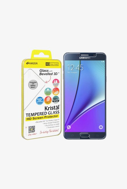 Amzer Kristal Tempered Glass for Samsung Galaxy Note 5