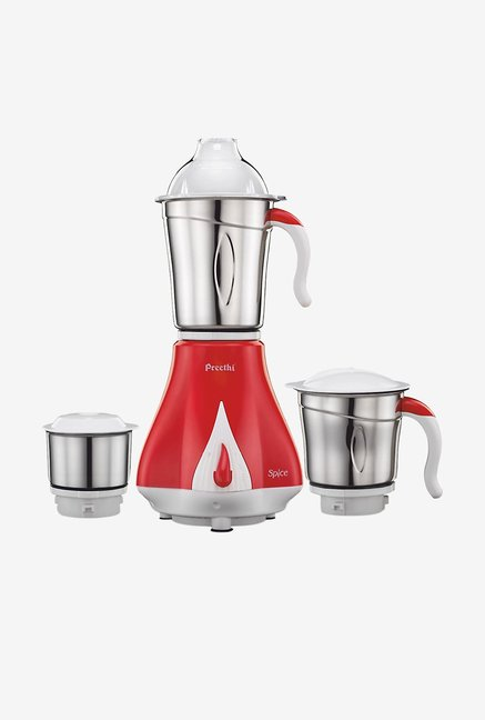 Preethi Spice MG203 550W Mixer Grinder Red