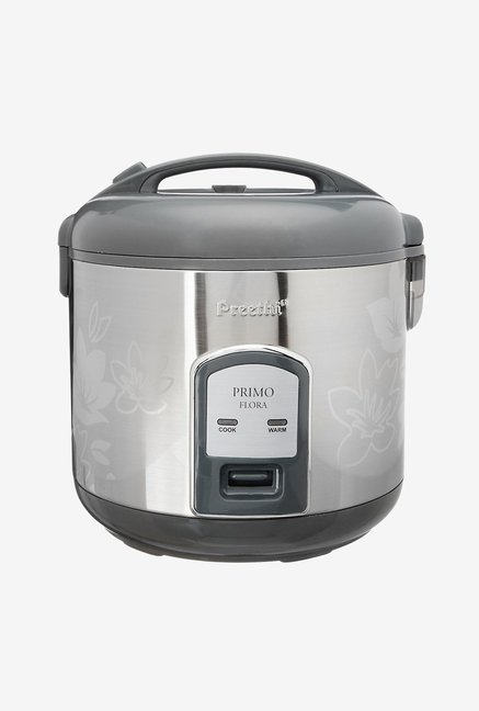 Preethi Flora 1.8L RC311 Electric Rice Cooker Silver