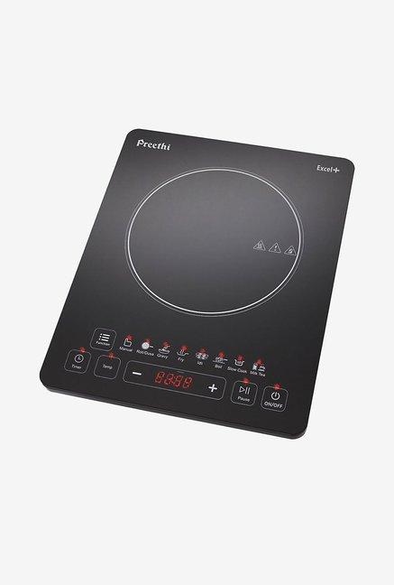 Preethi Excel Plus IC117 Induction Cooktop Black