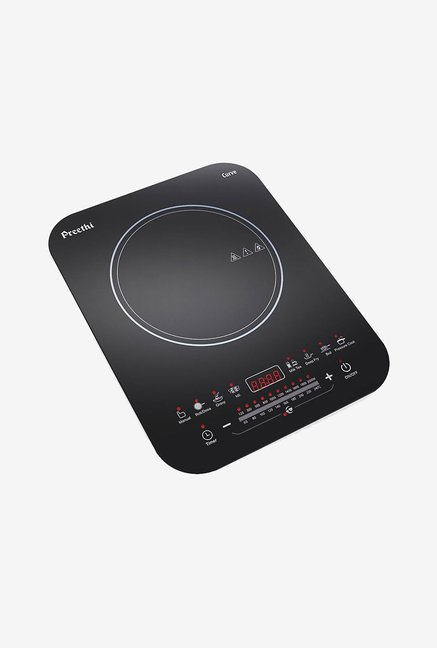 Preethi Curve IC120 Induction Cooktop Black