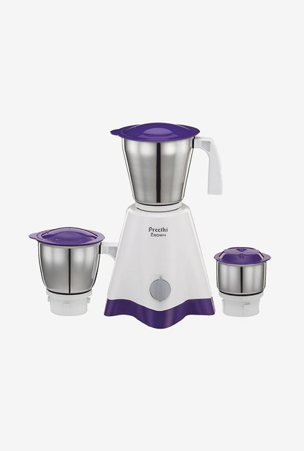 Preethi Crown MG205 500W Mixer Grinder White