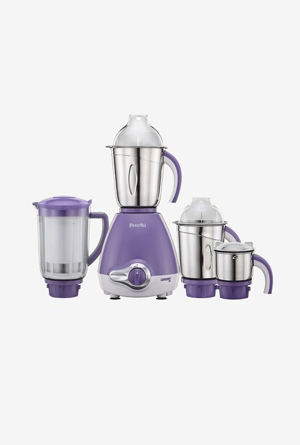 Preethi Lavender Pro MG185 600W Mixer Grinder Light Purple