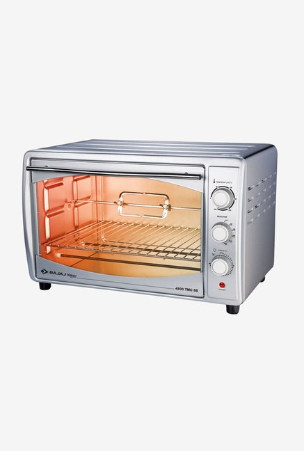 Bajaj Majesty 4500TMCSS 45L Oven Toaster Grill (White)