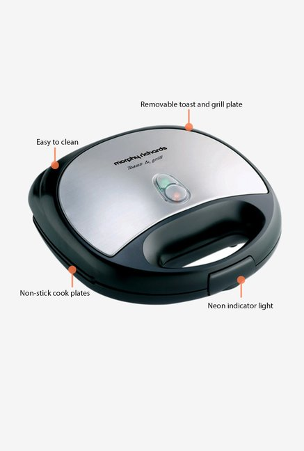 Morphy Richards SM 3006 Sandwich Maker Black