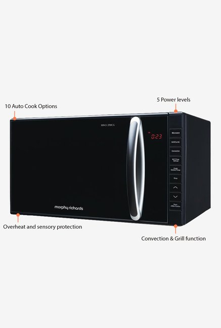 Morphy Richards MWO 23MCG 23L Convection Microwave Black