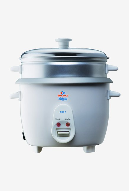 Bajaj Majesty 1.8 L RCX 7 Rice Cooker White