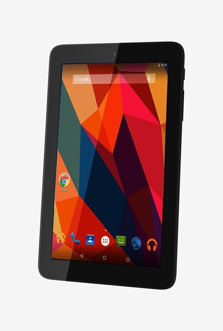 Micromax Canvas P290 Tablet 8  GB Black with Wi Fi +2G and 2 MP Primary Camera