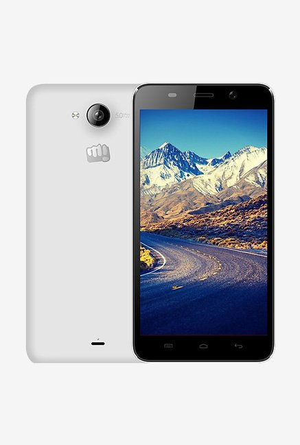 Micromax Canvas Play Q355 Dual Sim 8 GB (White)