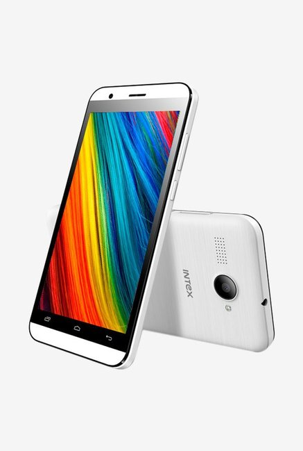 Intex Cloud Force Dual Sim 8 GB (White)