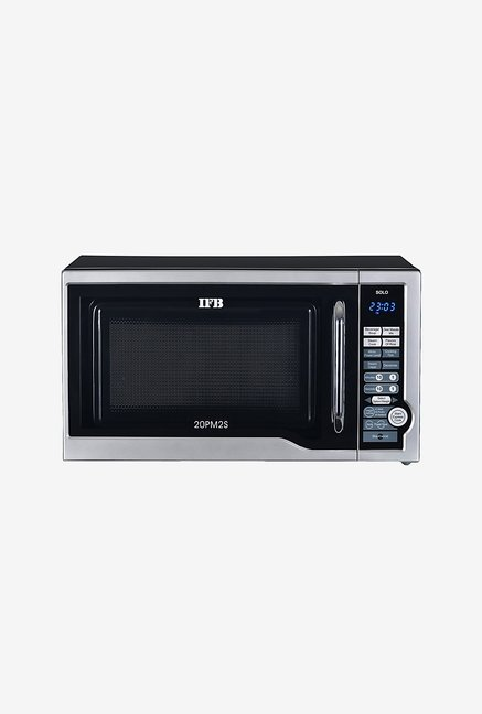 c5b252ca5 Buy IFB 20PM2S 20L Solo Microwave (Silver) Online At Best Price   Tata CLiQ