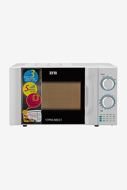 Buy Ifb 17pm Mec 17 Litre Solo Microwave White Online At