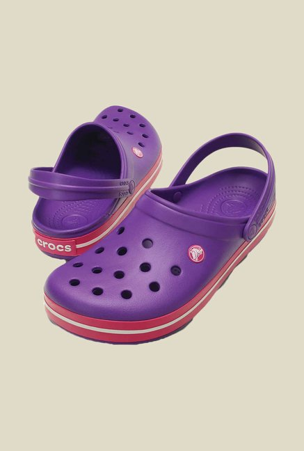Crocs Specialist Purple & Pink Clogs