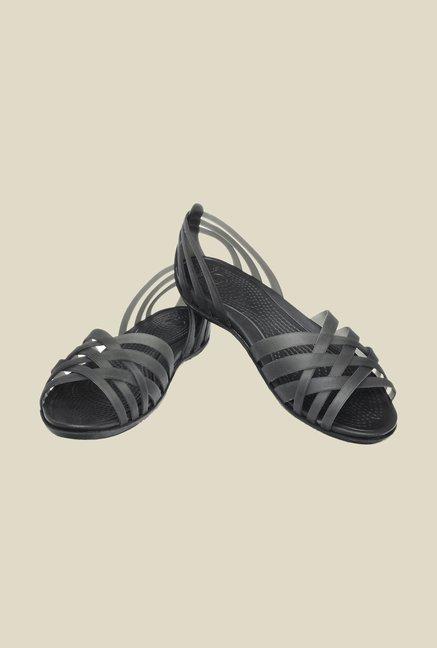 846904809 Buy Crocs Huarache Black Sandals Online at best price at TataCLiQ