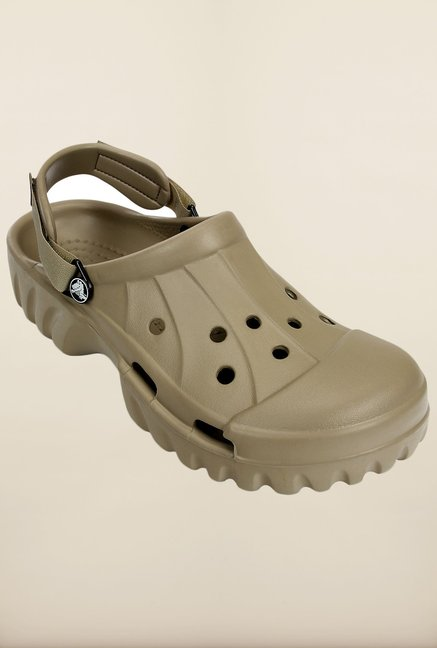Crocs Off Road Khaki Clogs