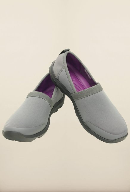 Crocs Duet Busy Day Smoke & Graphite Loafers