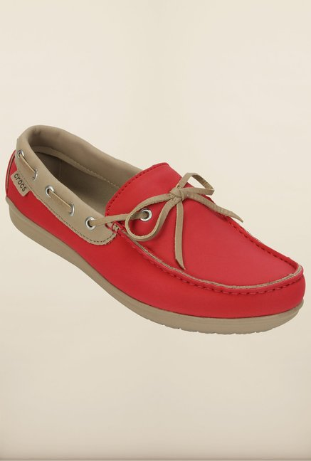 Crocs Wrap Color Lite Coral & Tumbleweed Shoes