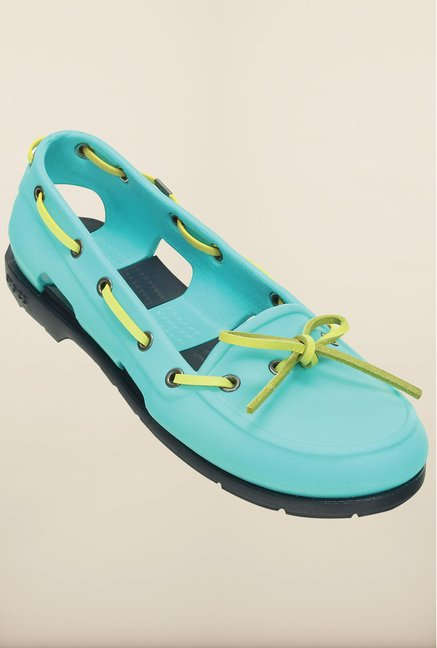 Crocs Beach Line Pool & Navy Shoes