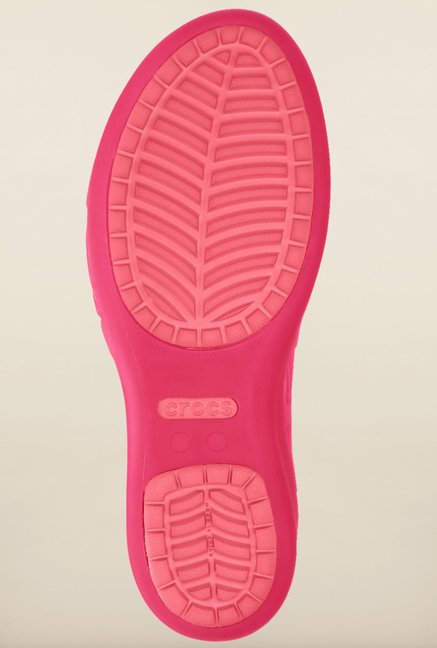 Crocs Adrina III Candy Pink & Coral Sandals
