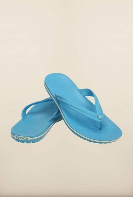 Crocs Crocband Electric Blue Flip Flops